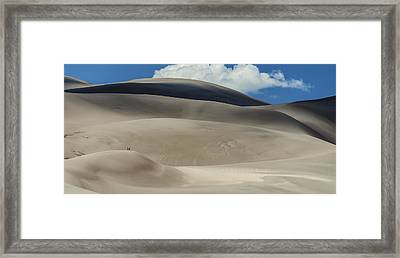 Great Sand Dunes National Park II Framed Print