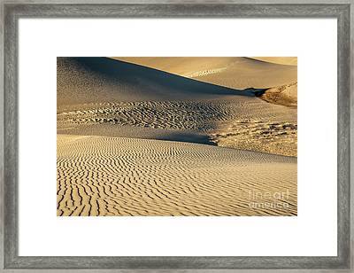 Great Sand Dunes National Park Framed Print by Marek Uliasz
