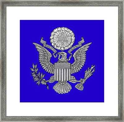 Great Seal Of The United States 2 Framed Print