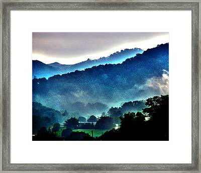 Great Smokey Mountains Framed Print by Susanne Van Hulst