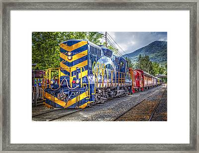 Great Smoky Mountain Railroad Framed Print