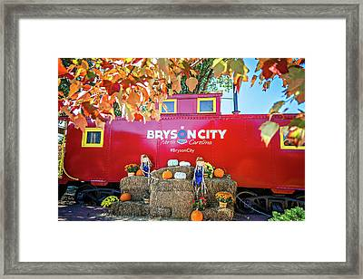 Great Smoky Mountains Train Framed Print