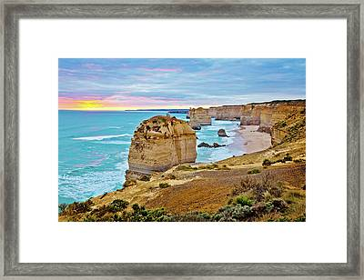 Framed Print featuring the photograph Great Southern Land by Az Jackson