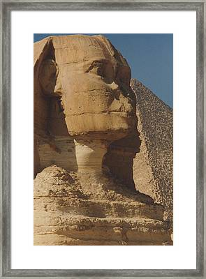 Great Sphinx Of Giza Framed Print