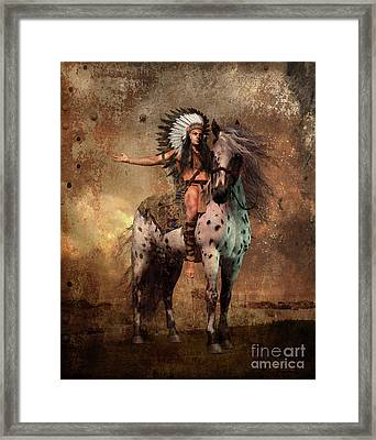 Great Spirit Chief Framed Print