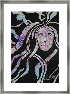 Great Spirit Framed Print by Sean-Michael Gettys
