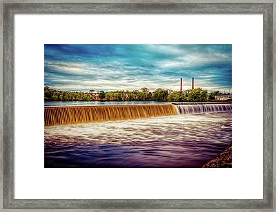 Great Stone Dam Framed Print