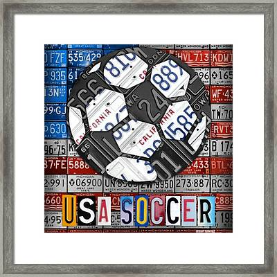 Great Victory For #usa #women #team In Framed Print