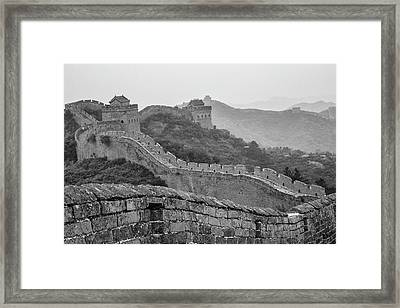 Great Wall 7, Jinshanling, 2016 Framed Print