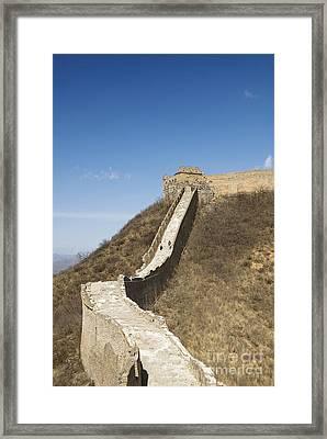 Great Wall Of China - Jinshanling Framed Print by Gloria & Richard Maschmeyer - Printscapes