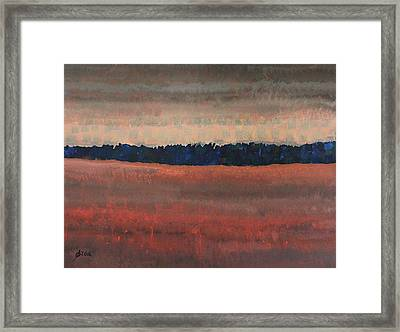 Great Wall Of The West Original Painting Framed Print by Sol Luckman