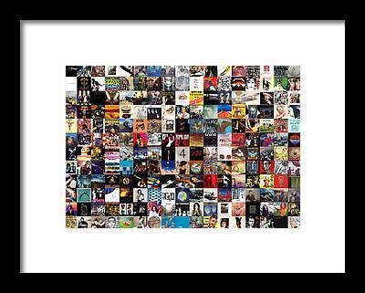 U2 Framed Prints