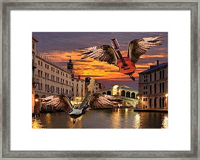 Greatest Love Of All Framed Print by Eric Kempson