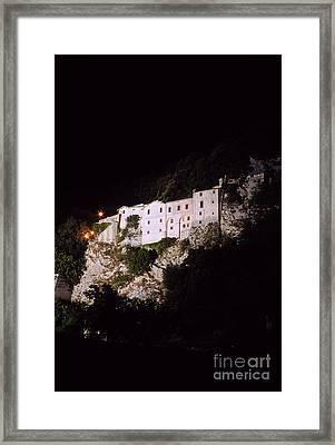 Greccio Monastery II Framed Print by Fabrizio Ruggeri