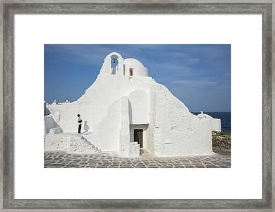 Greece Framed Print by Christian Heeb