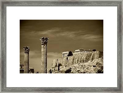 Greece Of Dreams Framed Print by Pavlos Euthymiou