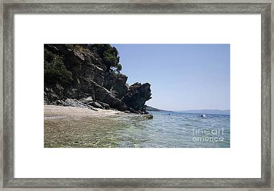 Greece - The Pelion Framed Print by Adriana Zoon