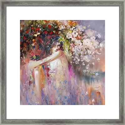 Greece Woman 171 1 Framed Print by Mawra Tahreem