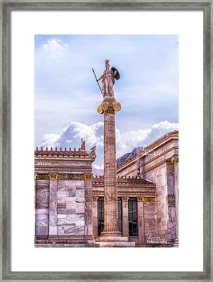 Greek God Framed Print