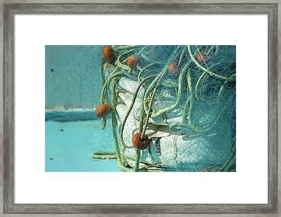 Greek Nets Framed Print