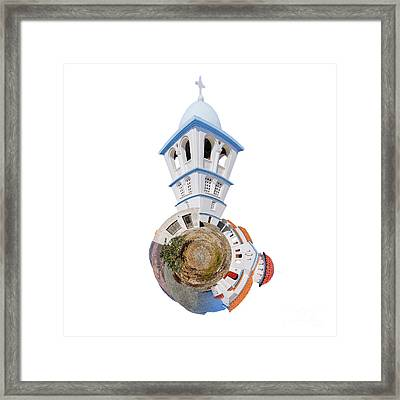 Greek Orthodox Church Framed Print by Nichola Denny