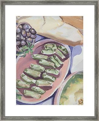 Greek Still Life Framed Print