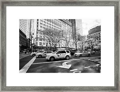 Greeley Square New York City Usa Framed Print