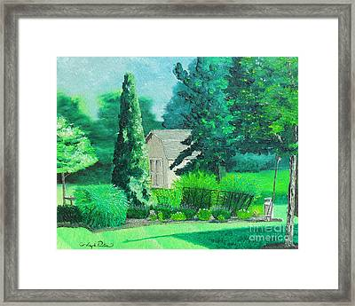 Green And Growing Framed Print by Joseph Palotas