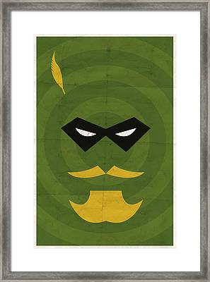 Green Arrow Framed Print