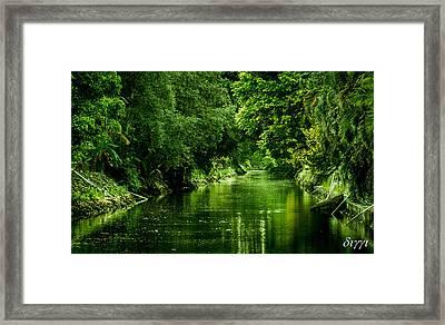 Green Bay Framed Print