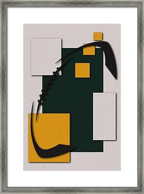 Green Bay Packers Football Art Framed Print