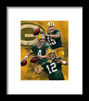 Green Bay Packers Framed Prints