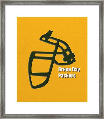 Green Bay Packers Retro Framed Print
