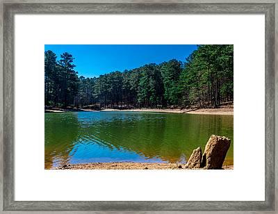 Green Cove Framed Print