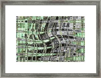 Green Dance Framed Print by Joshua Sunday