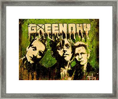 Green Day Framed Print by Christopher Chouinard