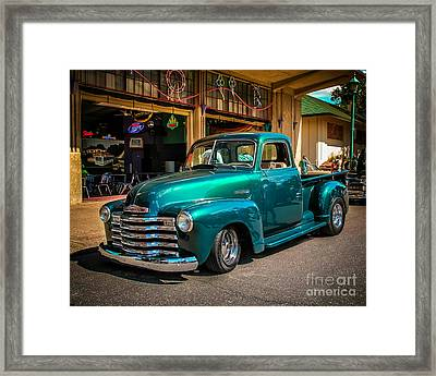 Green Dreams Framed Print by Perry Webster