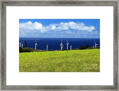Green Energy Framed Print