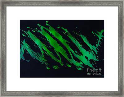 Green Escape Framed Print