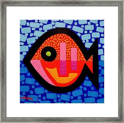 Green Eyed Fish  Framed Print