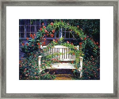 Green Gables Framed Print by David Lloyd Glover