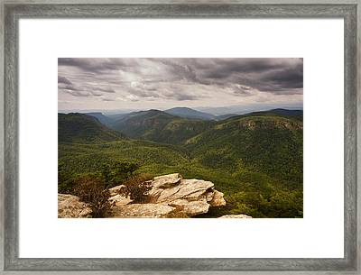 Green Gorge Framed Print