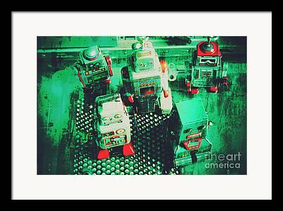Cooperation Framed Prints