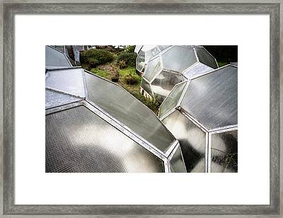 Green House From Out Of Space - Urban Exploration Framed Print by Dirk Ercken