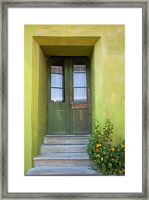 Green House Framed Print