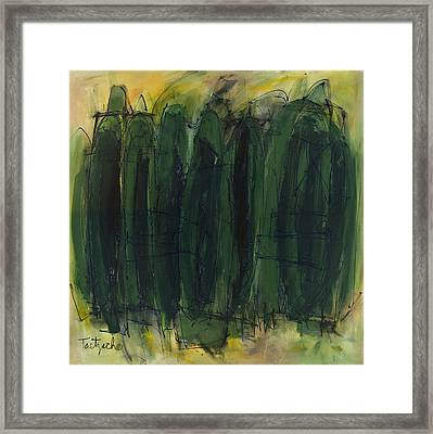Green Is Good Framed Print