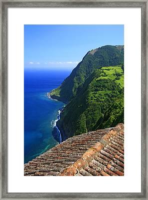 Green Island Framed Print by Gaspar Avila