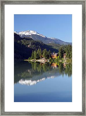 Green Lake Whistler  Framed Print by Pierre Leclerc Photography