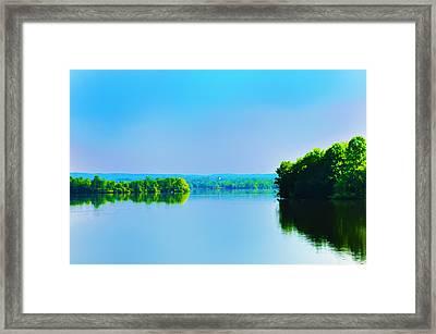 Green Lane Reservoir Framed Print by Bill Cannon