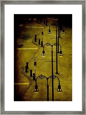 Green Light Framed Print by Susanne Van Hulst